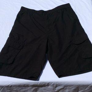 Men's Burnside Black Shorts